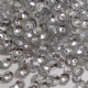 4mm Metallic Silver Semi-Cupped Sequins x 10g